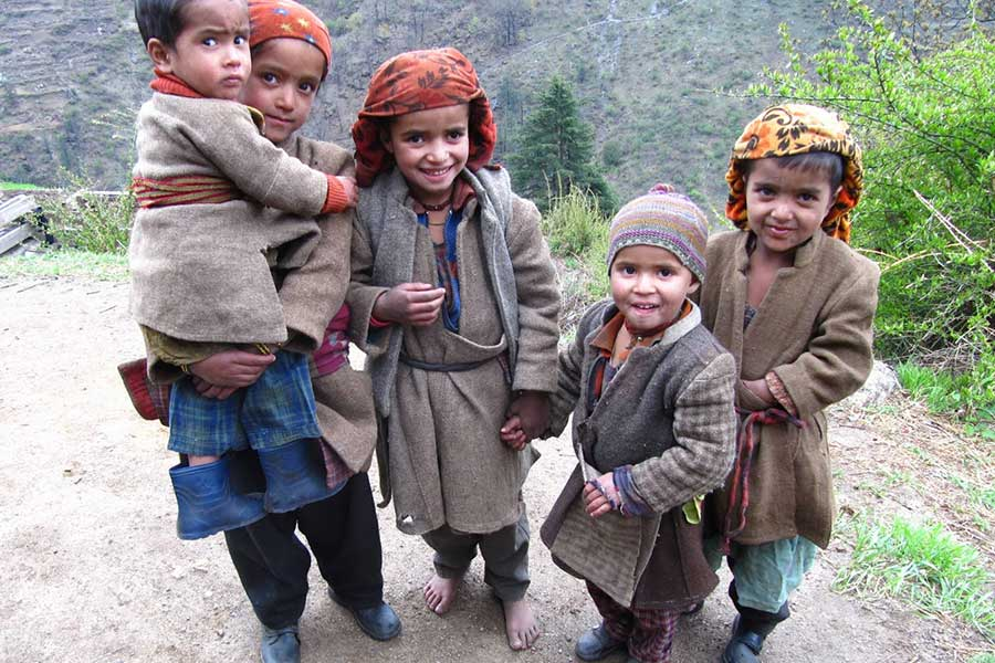 Har-ki-doon Trek, Garhwal Himalaya, Uttarakhand