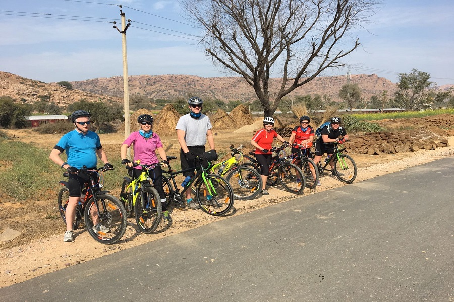 Cycling Tour of Golden Triangle