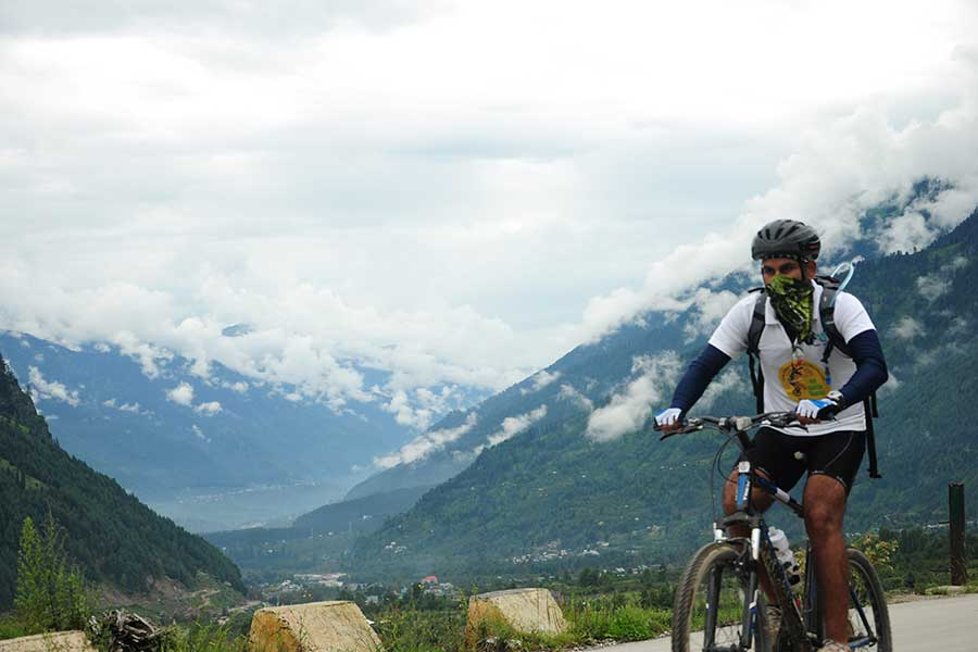 Manali Leh Mountain Bike