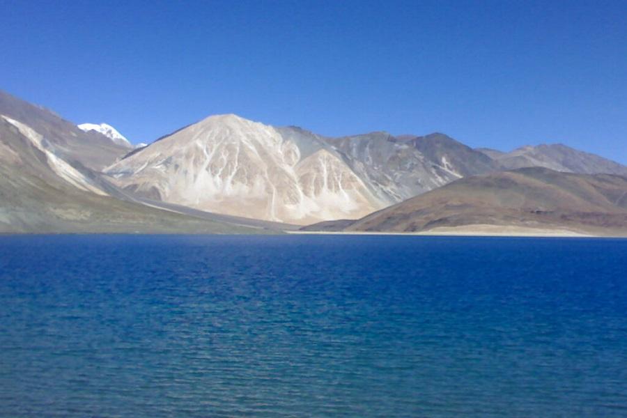 Blue Lakes & Lunar Landscape
