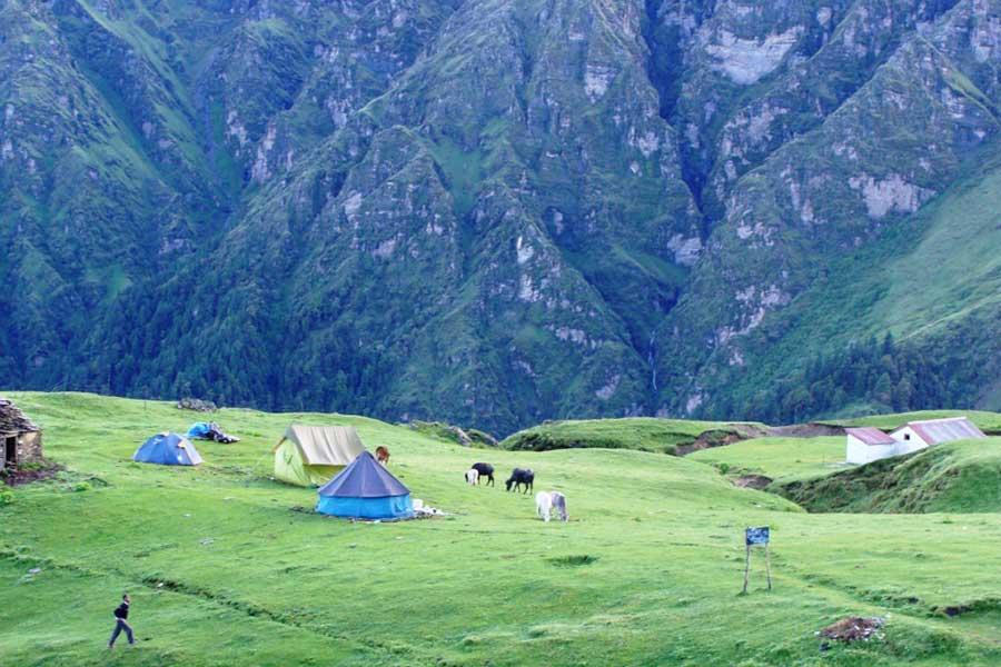 Yamunotri Pass Trek, Garhwal Himalaya, Uttarakhand