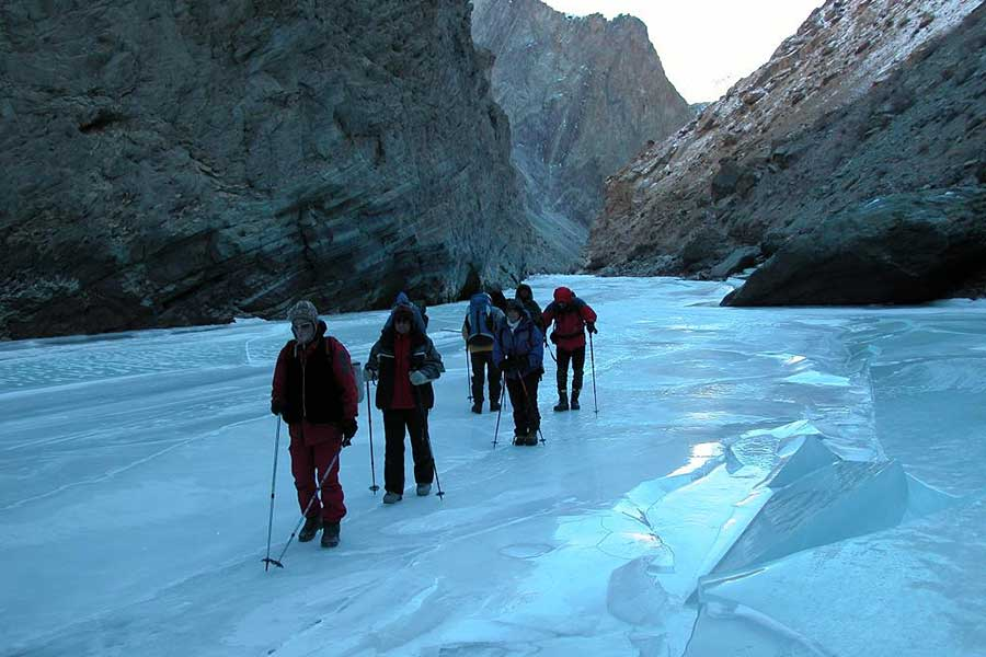 Chadar Trek in Zanskar 2018