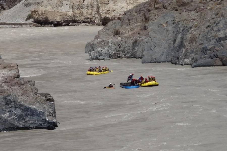River Rafting in Zanskar River
