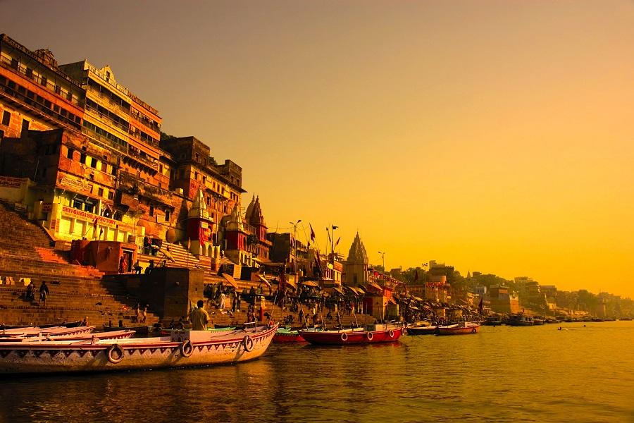 Holi River Ganga, Varanasi