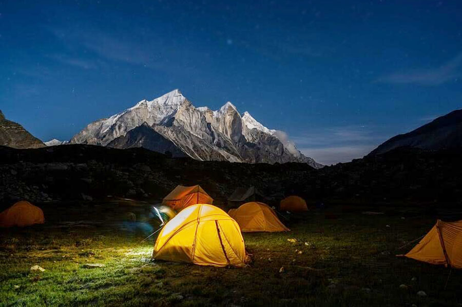 Mount Shivling Expedition (6543 M)