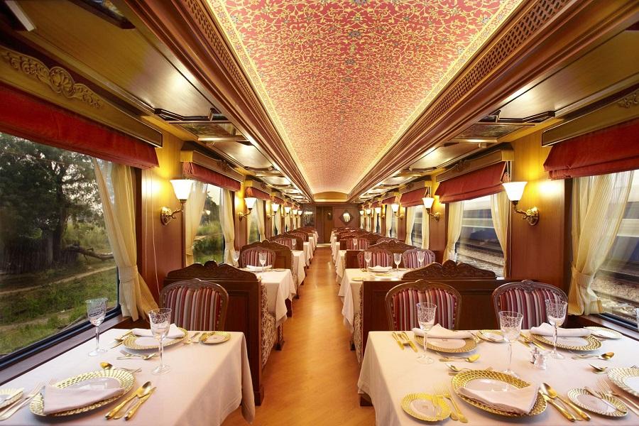 Dinning Area - Maharajas Express