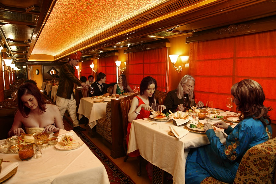 Onboard Restaurant - Maharajas Expres