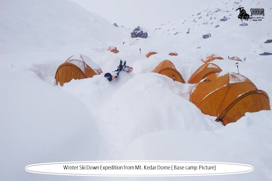 Mt. Kedar Dome Expedition (6831 M)