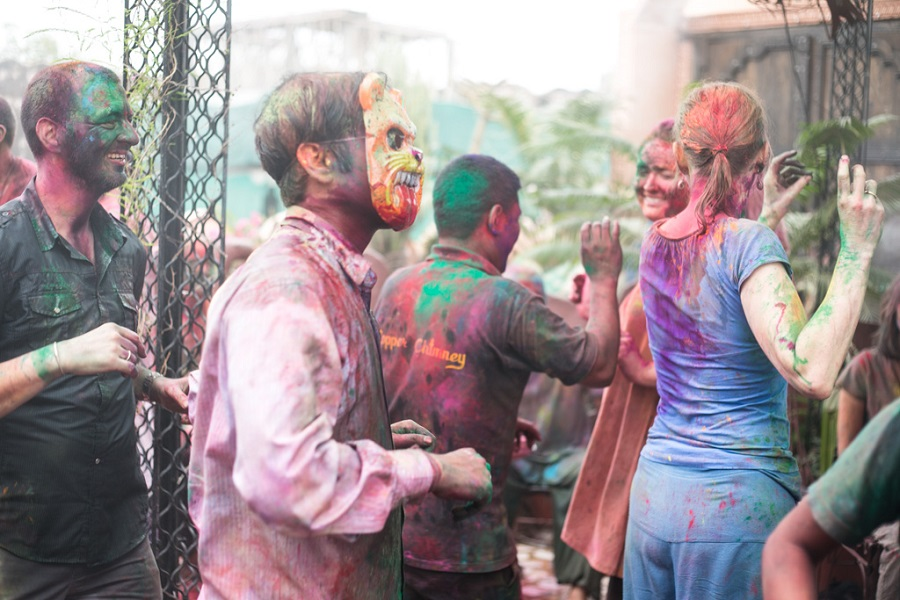 Celebrate Holi in Jaipur 2018